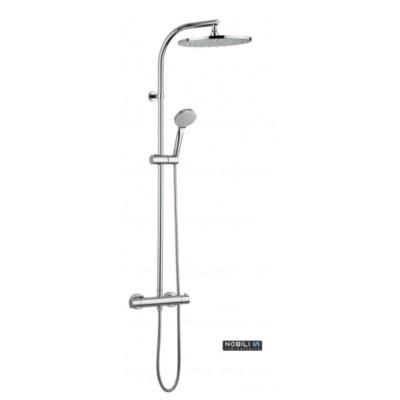 Combine de douche avec mitigeur thermostatique - Mitigeur de douche thermostatique ...